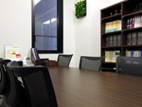 法律事務所 債務整理面談室